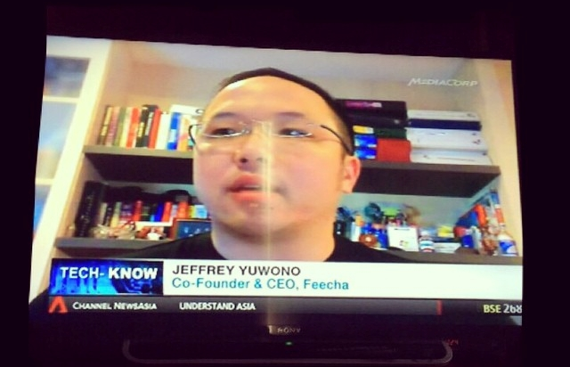 On Channel News Asia today to talk about Kiosked | THE